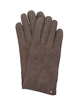 Cotette Suede Shearling Gloves