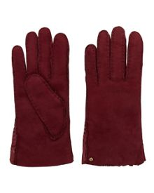 Ted Baker Cotette Suede Shearling Gloves