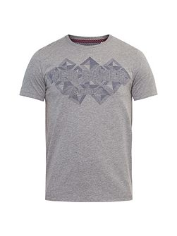Lazaro Graphic branded T-shirt