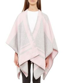 Ted Baker Taalie Checked Scarf Cape