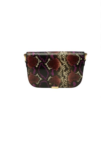 Ted Baker Melaney Metallic Bar Leather Shoulder Bag