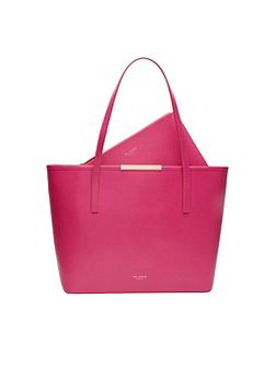 Kaci Leather Large Shopper Bag