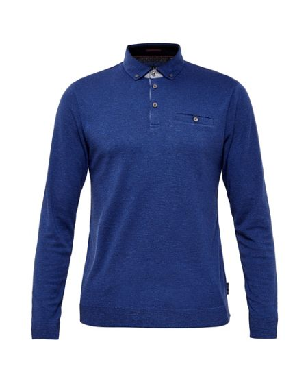 Ted Baker Salvi Woven Polo Shirt