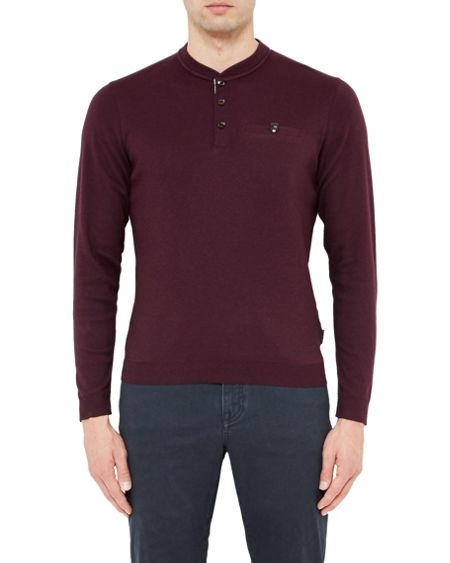 Ted Baker Mylo Henley Neck Top