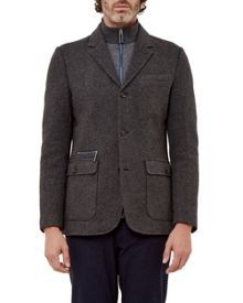 Ted Baker Dom Funnel Neck Jersey Jacket