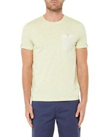 Ted Baker Varoar Printed Pocket T-Shirt