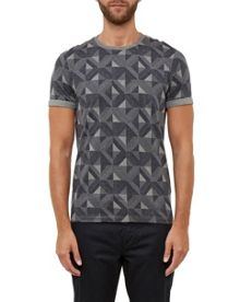 Ted Baker Luca Geo Print Cotton T-Shirt
