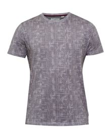 Ted Baker Ferdy Crosshatch T-shirt