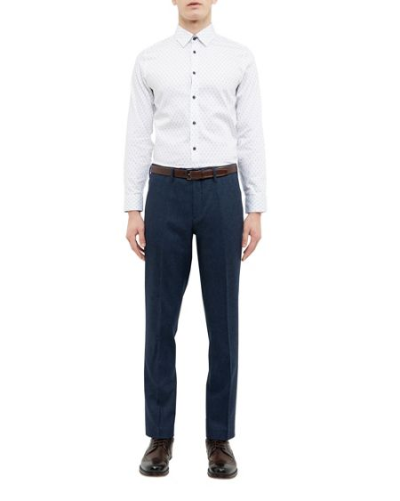 Ted Baker Bastro Herringbone trousers