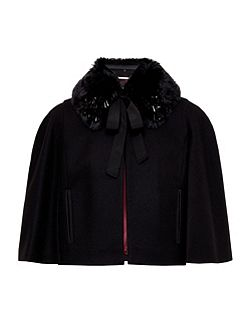 Lex Faux Fur Collar Jacket