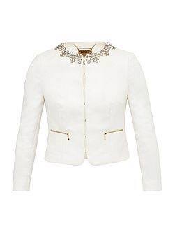 Hamli Embellished Cropped Jacket