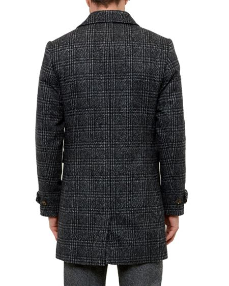 Ted Baker Watts Checked double breasted coat