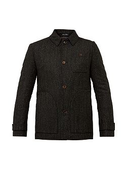 Robson Collared wool overcoat