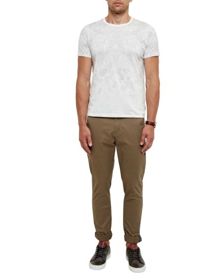 Ted Baker Sabato Paisley graphic cotton T-shirt