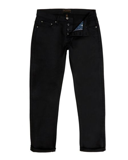 Ted Baker Sam Straight Fit Rinse Wash Jeans