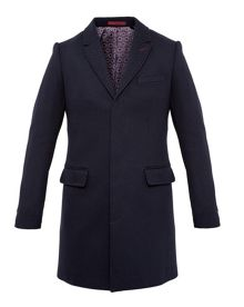 Ted Baker Rascot Spotted twill overcoat