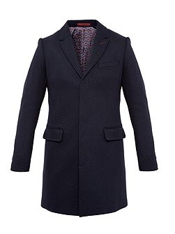 Rascot Spotted twill overcoat