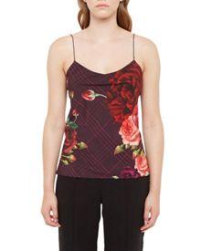 Ted Baker Klisha Juxtapose Rose Cami Top