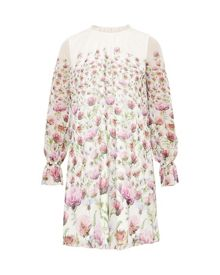 Ted Baker Deasil Thistle Sheer Dress