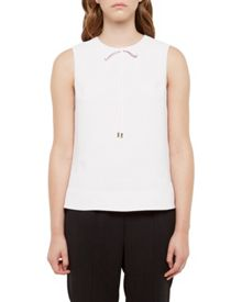 Ted Baker Natalle Bow Neckline Top