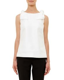 Ted Baker Asie Bow Trim Shell Top