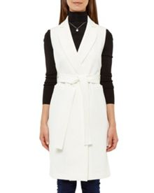 Ted Baker Durida Longline Sleeveless Jacket