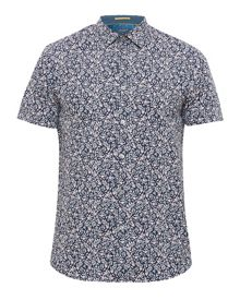 Ted Baker Thorsor Floral Cotton Shirt