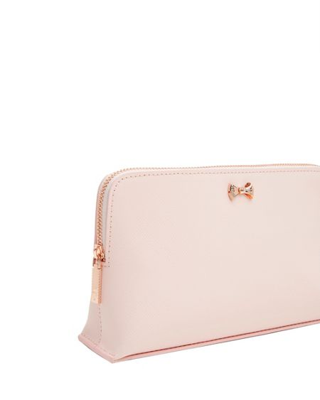 Ted Baker Hillda Textured Leather Small Wash Bag