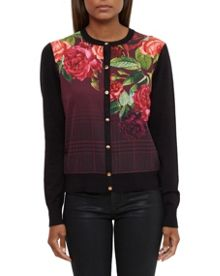 Ted Baker Teeah Juxtapose Rose Cardigan