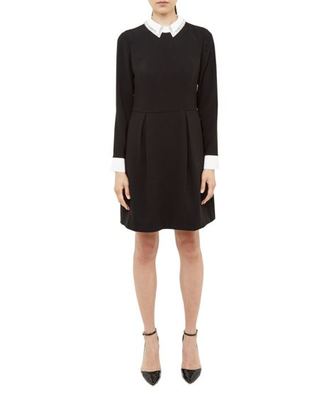 Ted Baker Timu Embellished Collared Dress