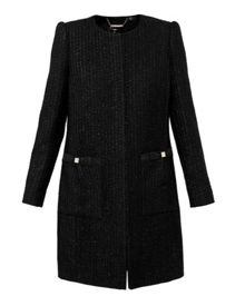 Ted Baker Trixhi Bouclé Bow Detail Coat