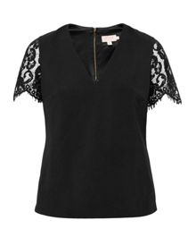 Ted Baker Jessin Lace V-Neck Top