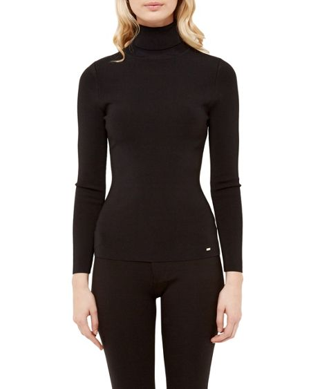 Ted Baker Helic Fitted roll neck jumper