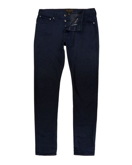 Ted Baker Steve Straight fit rinse wash jeans