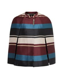 Ted Baker Zuavi Antique Stripe cape