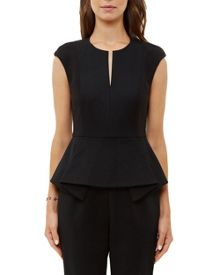 Ted Baker Jamilah Zip through peplum jumpsuit