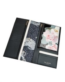 Ted Baker Linto Porcelain Rose Leather Travel Wallet