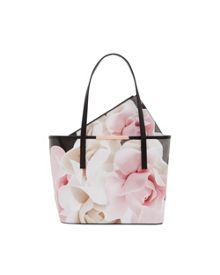 Ted Baker Joanah Porcelain Rose Small Leather Shopper Bag