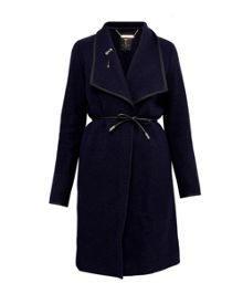 Ted Baker Bouclé Wrap Coat