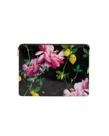 Ted Baker Olivin Citrus Bloom Leather Document Holder
