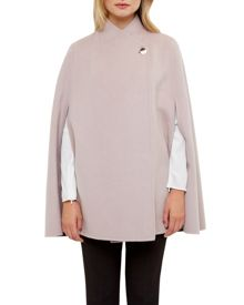 Ted Baker Ailida Reversible Wrap Over Cape