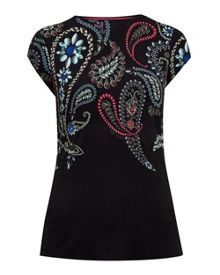 Ted Baker Toyin Treasured Trinkets fitted T-shirt