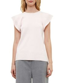 Ted Baker Zefori Frilled Knitted Top
