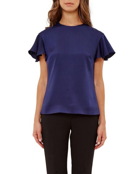 Ted Baker Xylo Frilled Sleeve Top