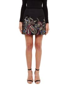 Ted Baker Aziah Treasured Trinkets mini skirt