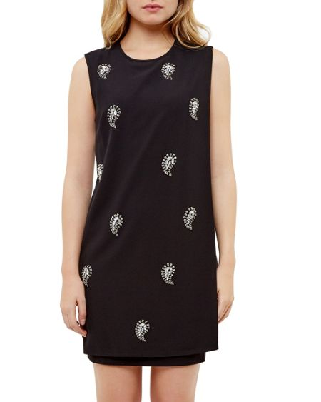 Ted Baker Mareey Embellished tunic dress