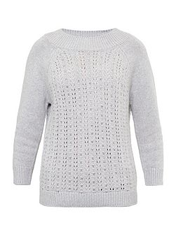 Tofya Embellished stitch detail jumper
