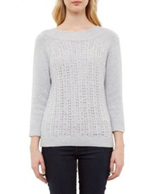Ted Baker Tofya Embellished stitch detail jumper
