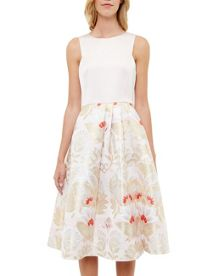 Ted Baker Almita Opulent Orient midi dress