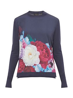 Islii Blushing Bouquet jumper